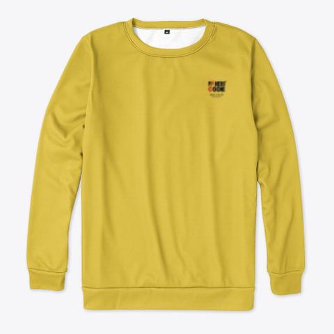 Brazil Football Yellow T-Shirt Front
