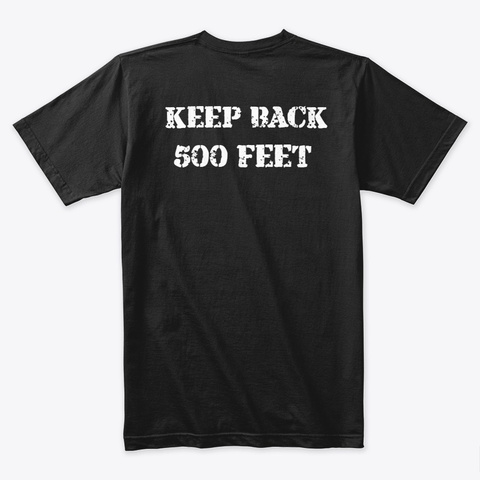 Emt Black T-Shirt Back