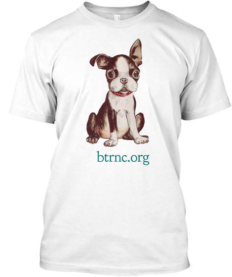 Btrnc.Org White T-Shirt Front