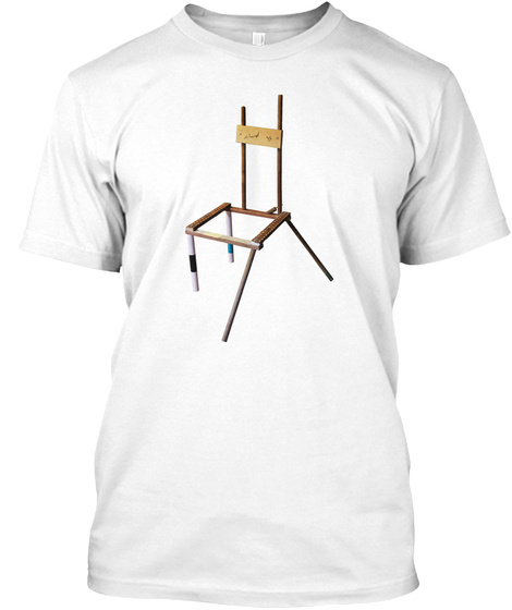 The Signature Model Worst Chair White T-Shirt Front