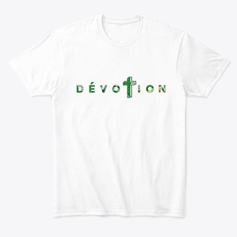 Logo Dévotion Ep Pépélé White T-Shirt Front