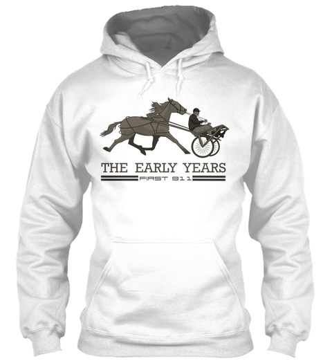 The Early Years First 911  White T-Shirt Front