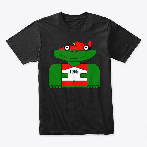 The Original Groonie Black T-Shirt Front