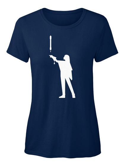 Falconer 3 Woman [Int] #Sfsf Navy Women's T-Shirt Front
