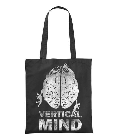 Vertical Mind Black T-Shirt Front