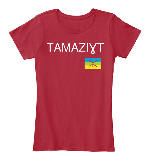 TamaziƔt Red Women's T-Shirt Front