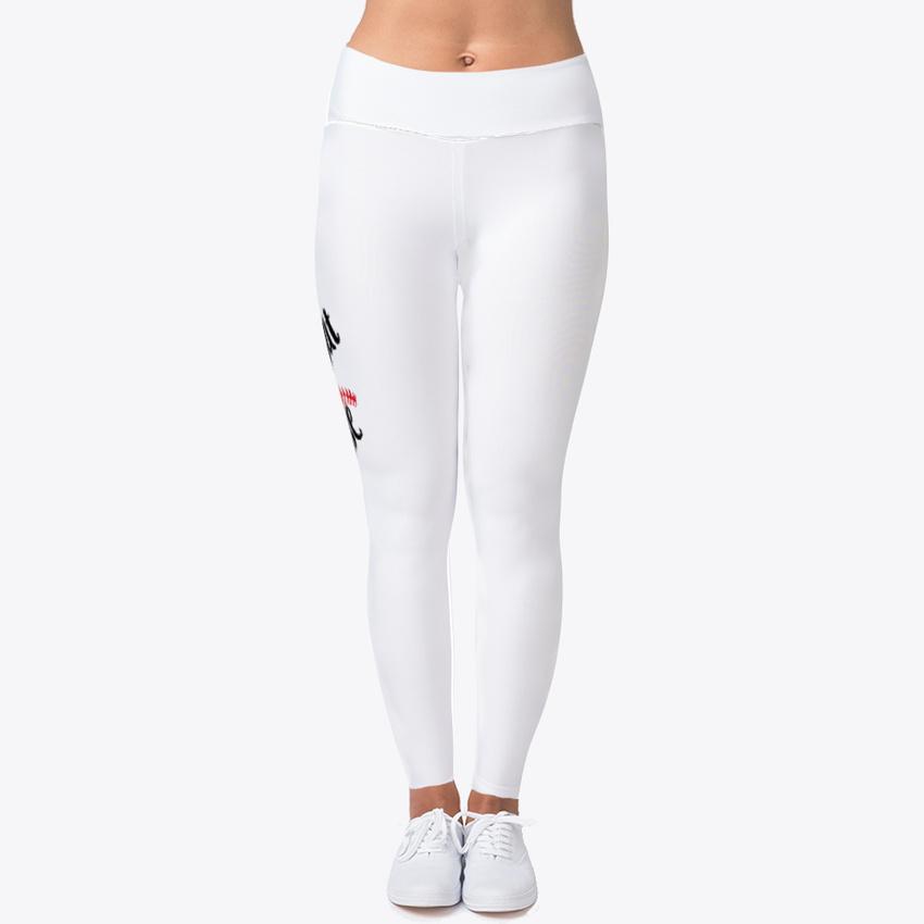 3638b7b939300 Trendsetting Baseball Women's Print Fitness Stretch *Leggings* Yoga Pants