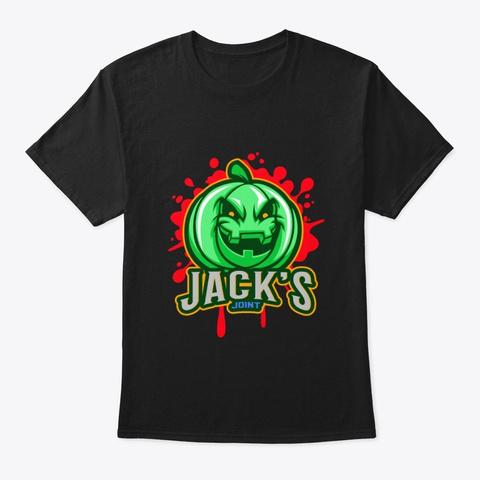 Jack's Joint Black T-Shirt Front