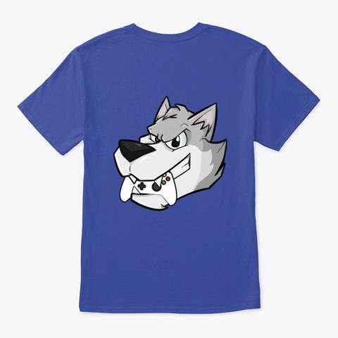 Ss T Prodigy Twitch Gear Deep Royal T-Shirt Back