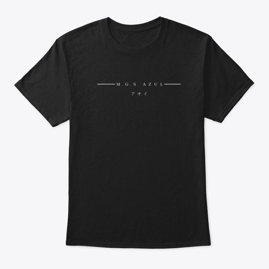- M.G.S Azul -  Black Unisex Tshirt