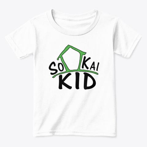 So Kai Clubhouse Store White  T-Shirt Front