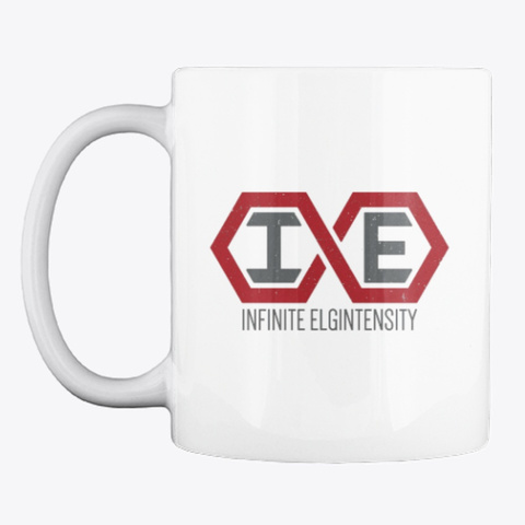 Infinite Elgintensity White T-Shirt Front