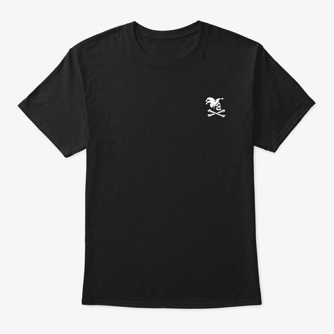 Barbascura   Bandierazza Black T-Shirt Front