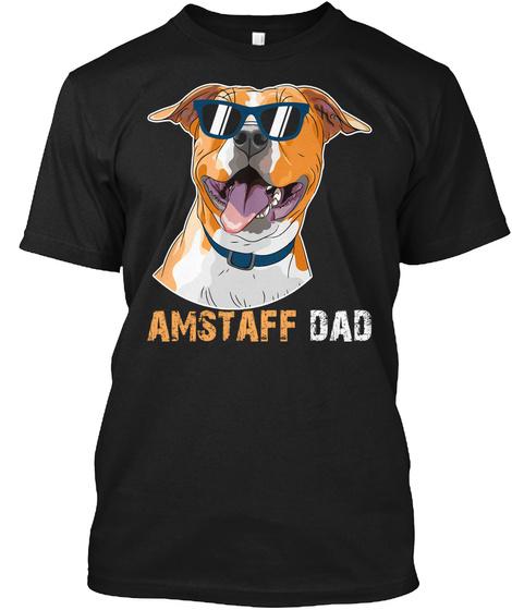 Dad Black T-Shirt Front