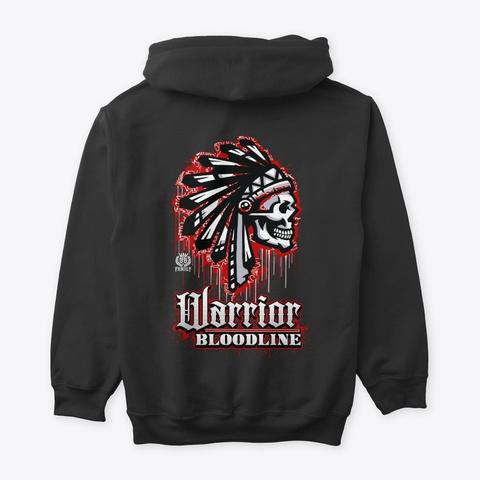 The O.G Family   Warrior Bloodline Black T-Shirt Back
