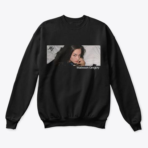 Black Photo Sweatshirt Black T-Shirt Front