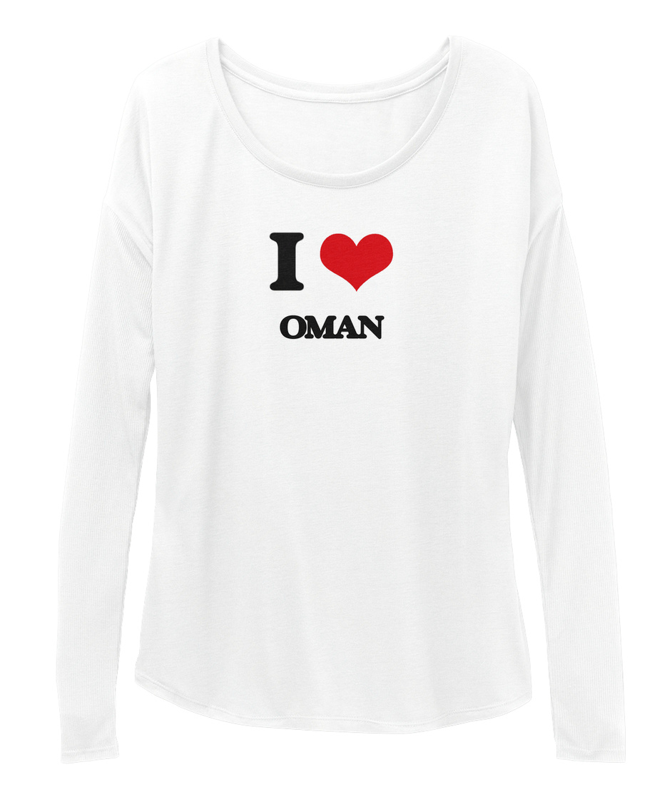 I Love Heart Oman Sweatshirt