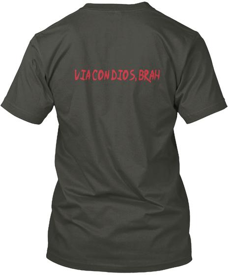 Viacondios Brah Smoke Gray T-Shirt Back