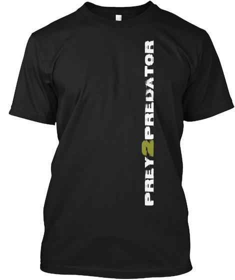 Hkm   Predator Tee Black T-Shirt Front