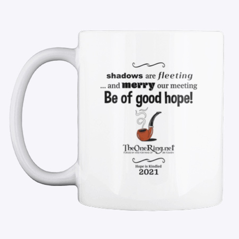 Be Of Good Hope! White T-Shirt Front