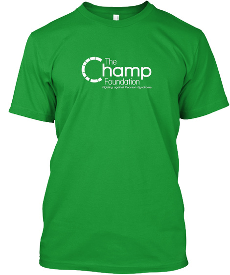 The Champ Foundation Kelly Green T-Shirt Front