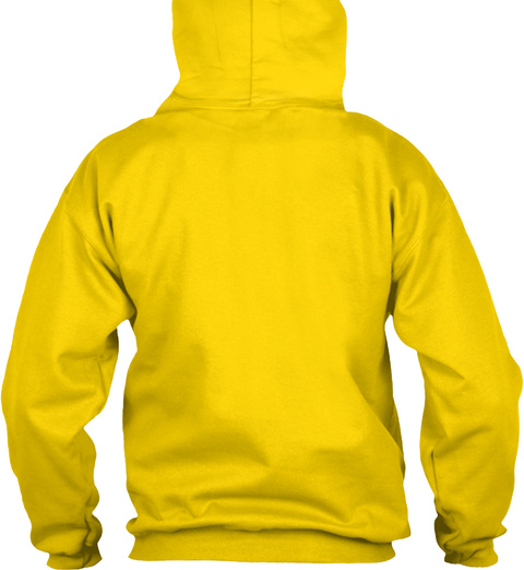 Limited Edition   I Miss Ames Hoodie Gold Sweatshirt Back