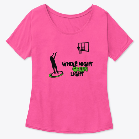 Whole Night Green Light Berry  T-Shirt Front
