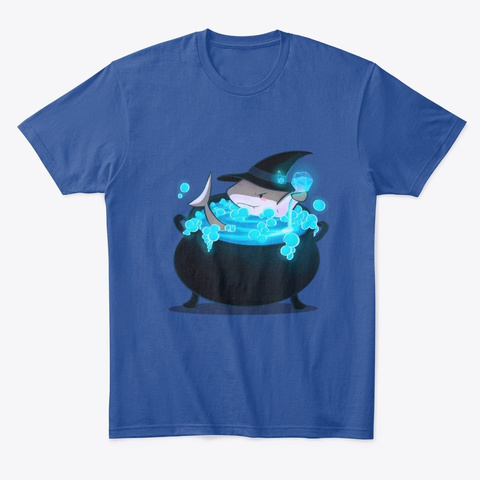 Witching Hour Tees Deep Royal T-Shirt Front