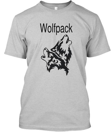 Wolfpack  Light Steel T-Shirt Front