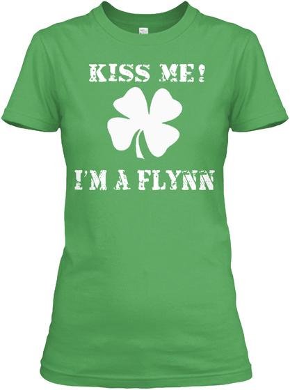 Kiss Me! I'm A Flynn Leaf T-Shirt Front