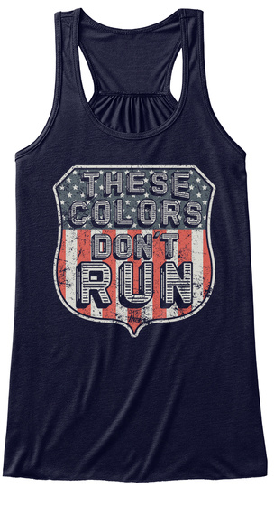 These Colors Don't Run Midnight T-Shirt Front