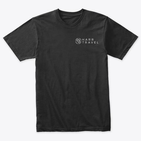 Cruising Palm Vintage Black T-Shirt Front
