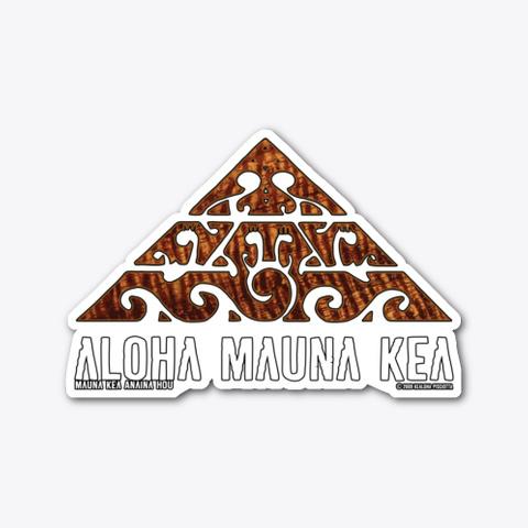#We Are Mauna Kea Joseph Arthur Koa Design Standard T-Shirt Front