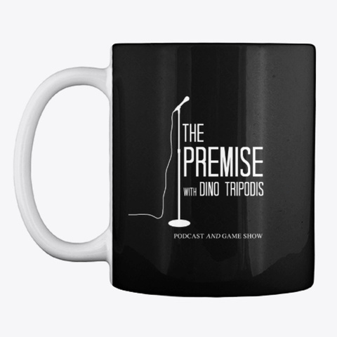 The Premise With Dino Tripodis Black T-Shirt Front