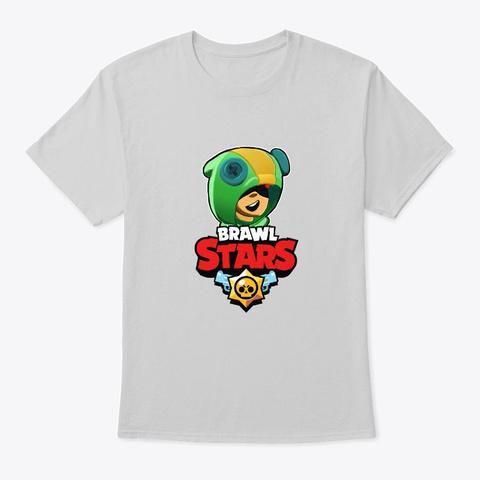 Leon Brawl Stars T Shirt Light Steel T-Shirt Front