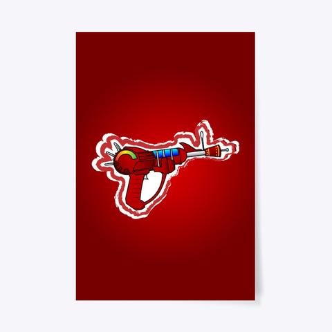 Ray Gun   Poster Standard T-Shirt Front