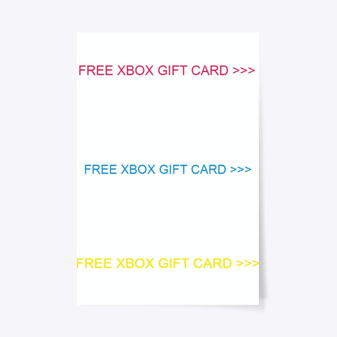 P[Free Xbox Gift Card] Free Codes (2020) Standard T-Shirt Front