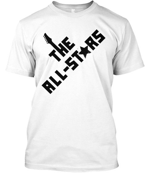 The All Stars White T-Shirt Front