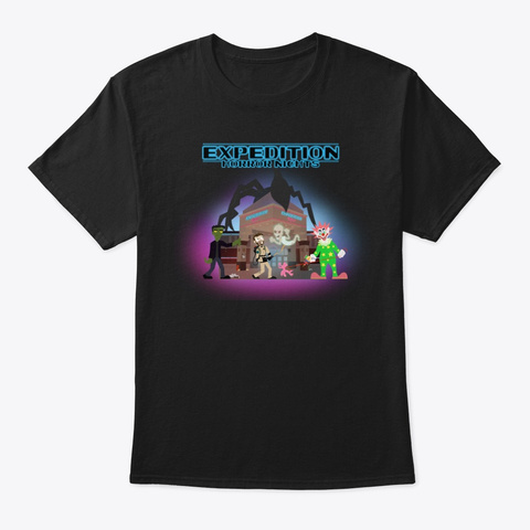 Expedition Horror Nights Black T-Shirt Front