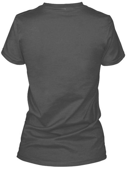 26.2 Marathon T Shirt  Charcoal T-Shirt Back