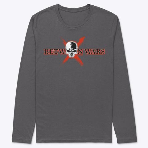 Between Wars Skull Ebattle  Heavy Metal T-Shirt Front