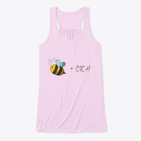 To Bee Or Not To Bee Soft Pink T-Shirt Front