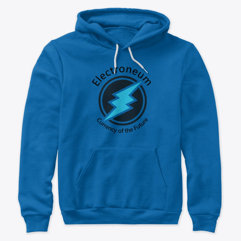 Electroneum   Currency Of The Future True Royal T-Shirt Front