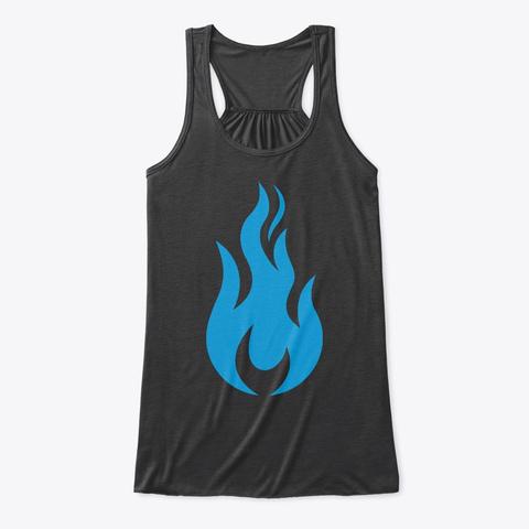 Sffs Flowy Tank Dark Grey Heather T-Shirt Front