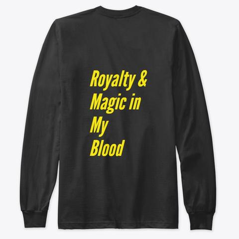 Majestic Magic Black T-Shirt Back