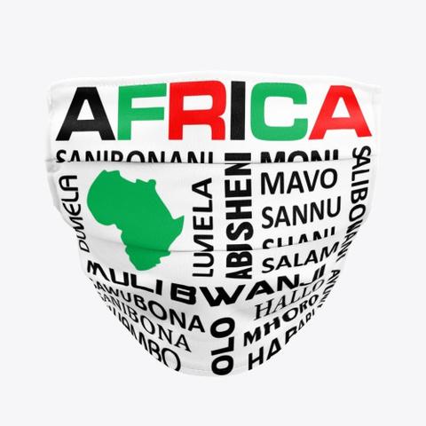 Hello Africa Standard T-Shirt Front