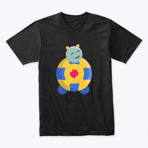 Tira | Nurturist Black T-Shirt Front