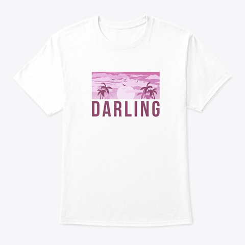 Darling V1 ♡ White T-Shirt Front