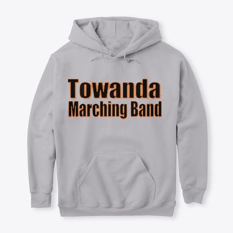 Towanda Marching Band Sport Grey T-Shirt Front