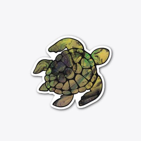Oil Slick Turtle Standard T-Shirt Front